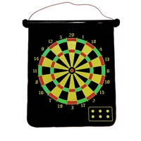 Magnet datrboard,Magnetic dart,12inch,15inch,17 inch dart board with 6 darts,4darts, Double sided