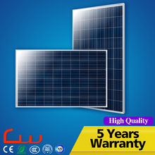 Automatic control system IP65 240W 260W pv solar panel price