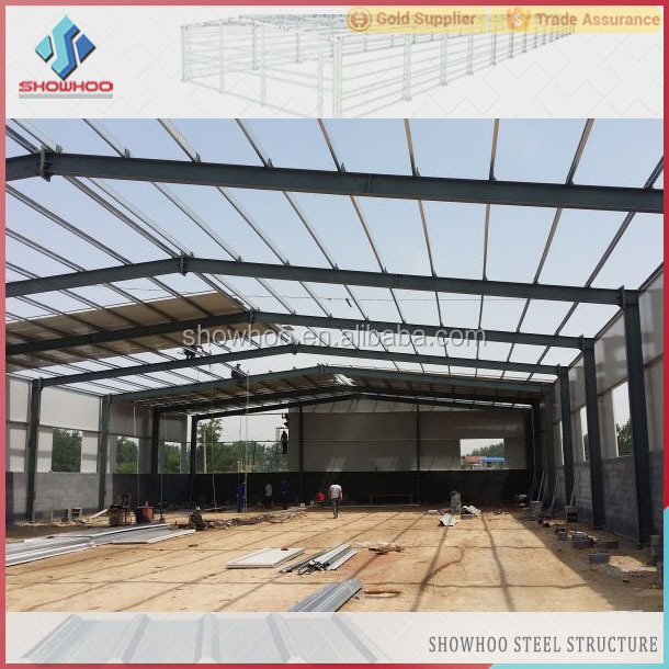 qingdao construction design light gauge insulated corrugated steel industrial buildings