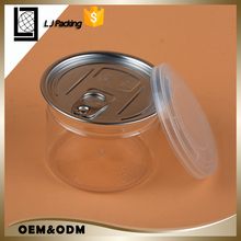 food grade wide mouth plastic Bottle Cookies/Peanut Jar with Easy Open End