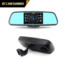 RM500DA 5inch android fhd 1080p dual recorder car mirror DVR with GPS+Bluetooth+Android WIFI