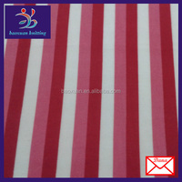 fleece stripe fabric red and white stripe fabric