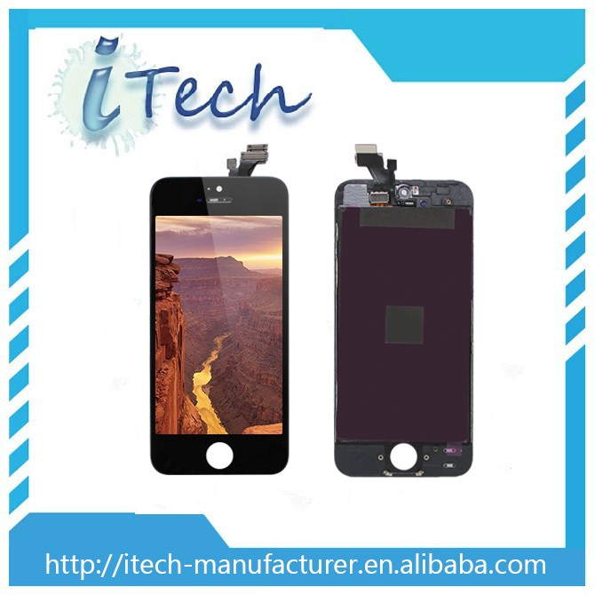 Cell phone parts OEM for iphone 5 lcd screens, for iphone 5 lcd