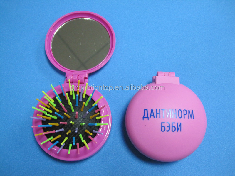 Round Travel Hair Brush