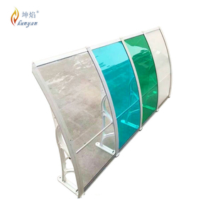 sunshade awning skylight garage polycarbonate roofing