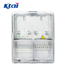 2018 hot sale High precision outdoor 3 phase electric meter enclosure box din-rail meter box with hinges,lock and key