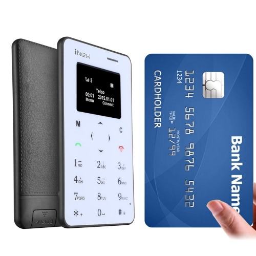 2017 new phone Cheap bt iNew Mini 1 Ultrathin small size card mobile phone