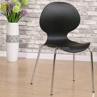 modern fashionable stackable plastic waiting chairs