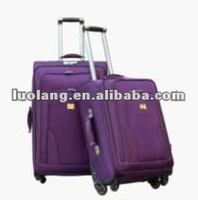 "20""&24""&28""&32"" inch nylon trolley luggage suitcase for women"