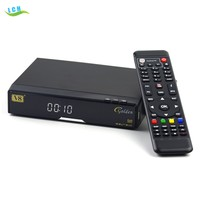 worldwide mpeg4 hd digital tv decoder DVB-S2+T2+Cable Signal Support V8 Golden Satellite Receiver
