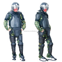 Female Military Anti Riot Suit Protect Whole Body