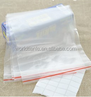Small Reclosable Resealable 0.08mm Thickness Clear PE Plastic Poly Bags Jewelry Ziplock Zip Zipped Lock Grip Seal Bag all sizes
