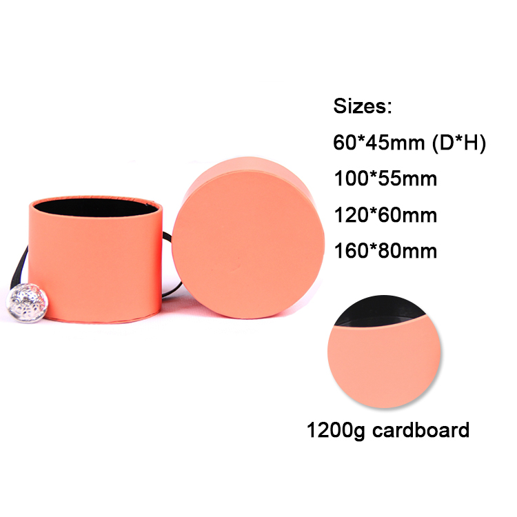 Luxury cardboard tube round cylinder gift hat box wholesale for gift boxes packaging