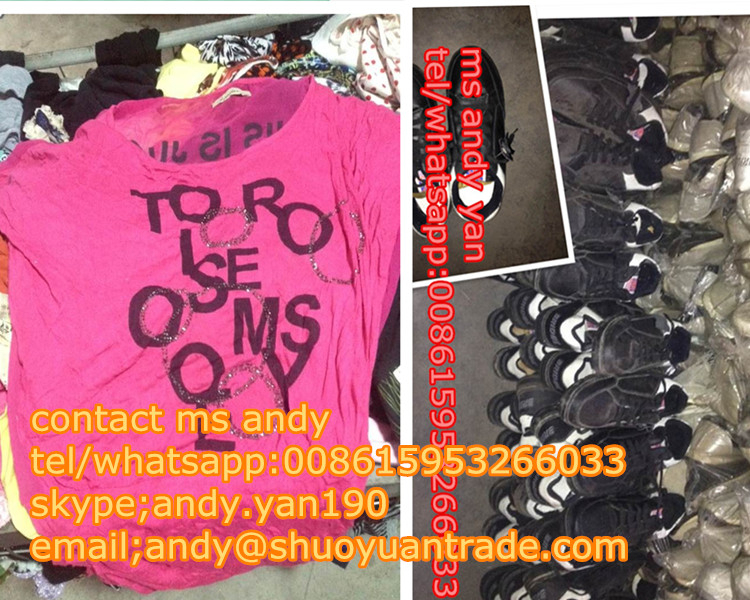 used clothing in south korea/used clothes trading company from korea