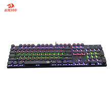 Durable Redragon RGB Wired Mechanical Gaming Keyboard With Backlit