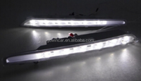 12v policy led daytime running light 6 LED drl for Citroen C4L (2013-2014)led drive light