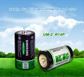 KingKong wholesale r14 um2 carbon zinc batteries c size dry battery