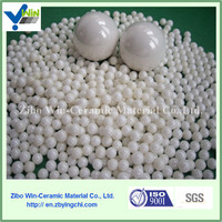 Zirconia ceramic ball with low service cost