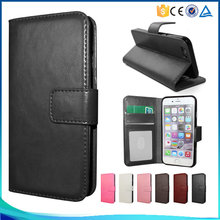 Three Card Slot PU Leather Phone Case For XIAOMI REDMI NOTE2 PRO Flip Cover Case