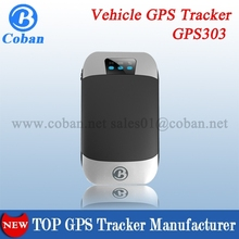 Vehicle/Car GPS Tracker TK303G Hot Sell in Ebay, ACC/ Shock/ Fuel/ Door Open Alarm, Coban Manufacturer