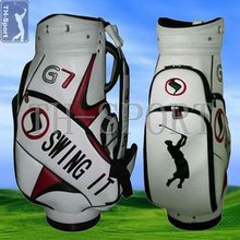 Classic Design Custom Leather Golf Cart Bag