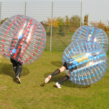 Promotional TPU/PVC sports equipment bumper ball inflatable bubble/human ball