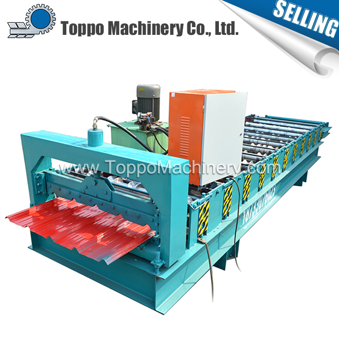 Span Building IBR Zinc Metal Wall Panel Roll Forming Machine