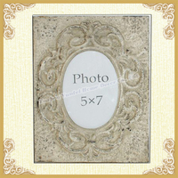 French style picture frames-shabby white