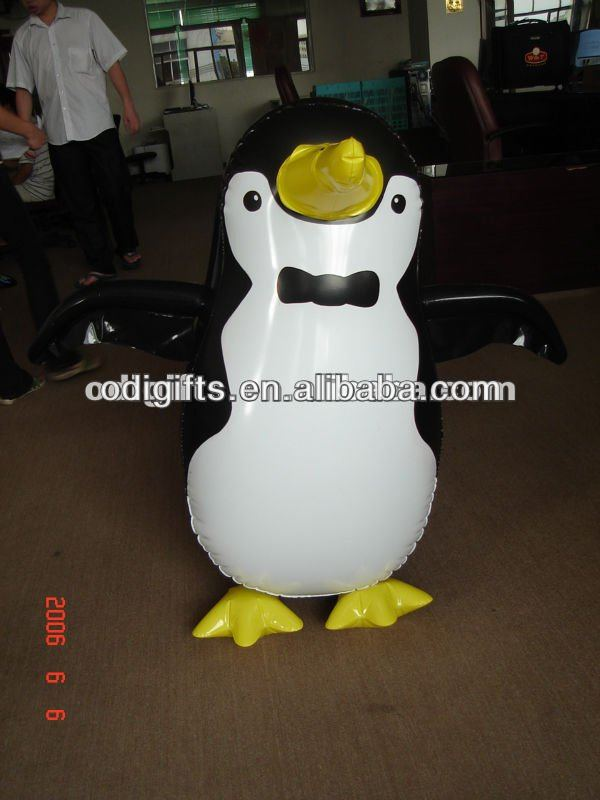 inflatable christmas penguin