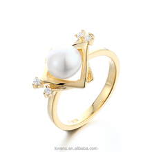 1 Gram Gold Ring Jewellery Women'S Ring Gold Latest Models Jewelry SRK019W
