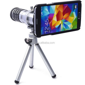 Brand New 12X Telscope Lens With Mini Tripod For Samsung Galaxy S5 G900