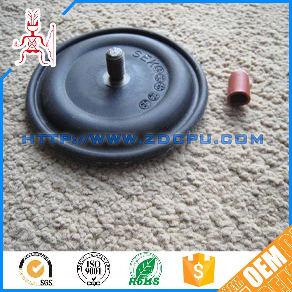 New design abrasion brake air chamber rubber diaphragm