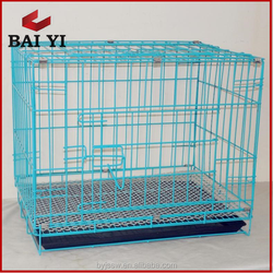 24'', 30'', 36'', 42'', 48'' foldable metal dog cages for cheap sale