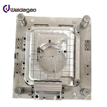 Transparent plastic injection mold tooling decorate box mould