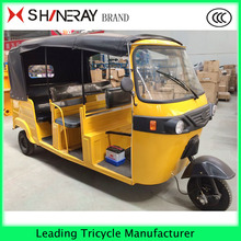 China 6 Passenger Original Bajaj Tricycle for Sale