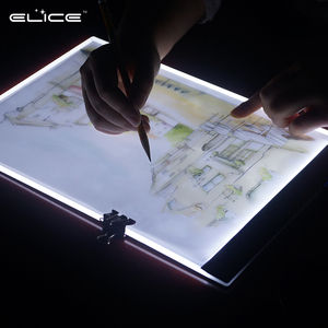 LED Tracing Light Pad of artists, Artist Tattoo Drawing light board,intelligent Sketching Board for A4 Size