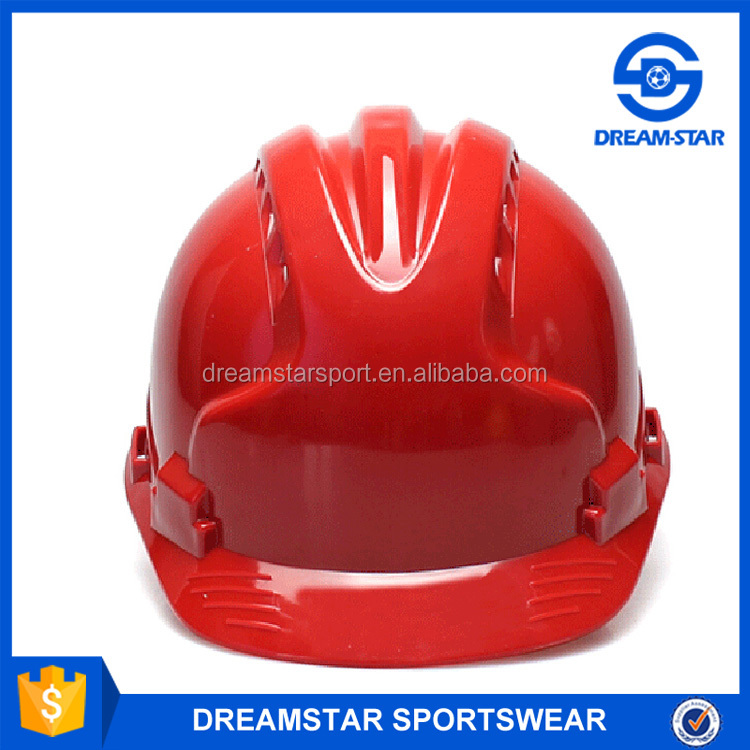 Top Quality Red Types Of Safety Helmet Made In China