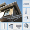Low Cost Roof Rain Drainage System PVC Rain Gutter