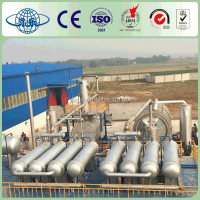 Yongle Huayin waste plastic oil recycling line