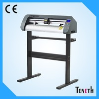 Teneth 740mm Width Servo Motor High Speed Label Banenr Auto Vinyl Cutting Plotter Can Scan The Registration Mark Automatically