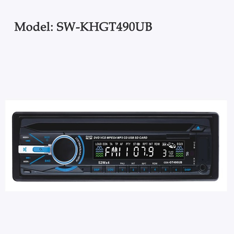 Fixed Car MP3 music player with USB/SD/Radio FM Radio