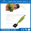 New fashion hand grip leather wrist strap for dslr camera with green color