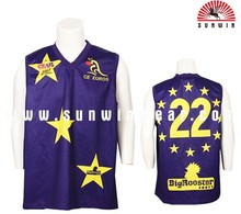 nice manufacturer jersey shirts design for basketball