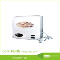 CE, Rohs Certificate Automatic High Speed Wall Mounted Hand Dryer with Sensor Wholesale
