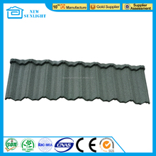 Best Sales Building Colorful Stone Coated Metal Roof Tile