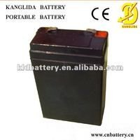 Louisiana rechargeable deep cycle lead acid storage battery 4v4ah