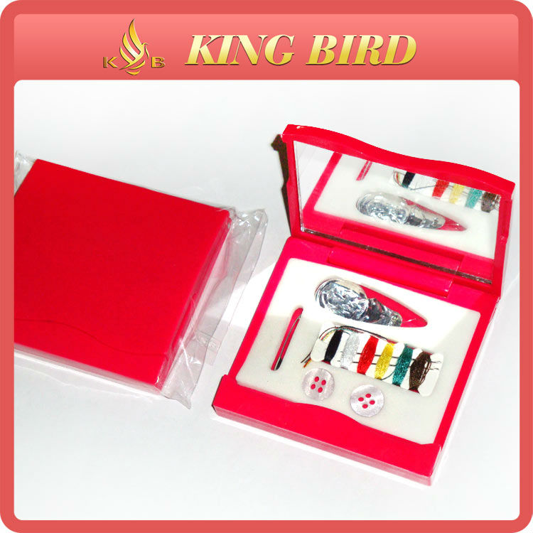 Cheaper mirror hussif supply needles thread sewing kit
