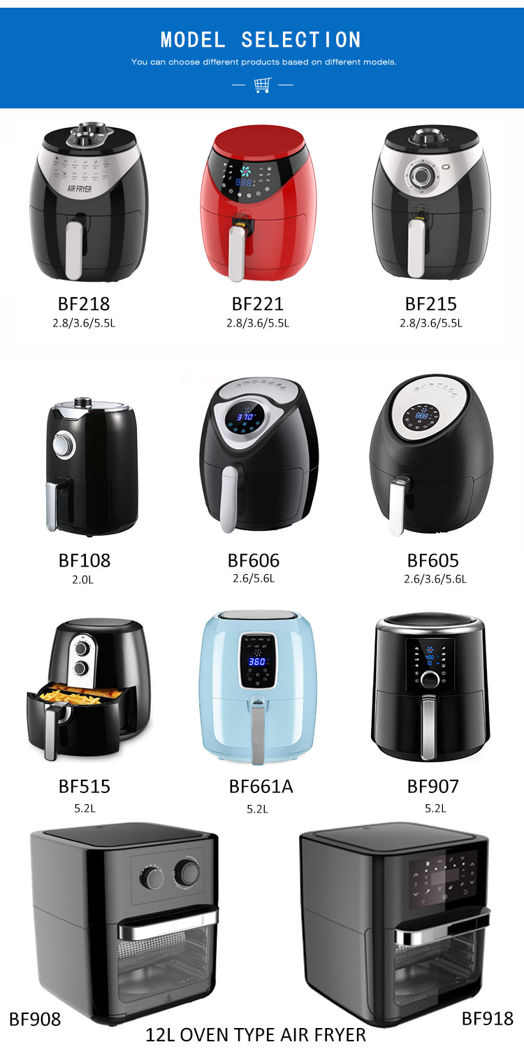 1.5L 2.6 3.2L 5.2 5.5L 7L consumer reports best air fryer hot mini rack air fryer without oil as seen as air fryer without oil