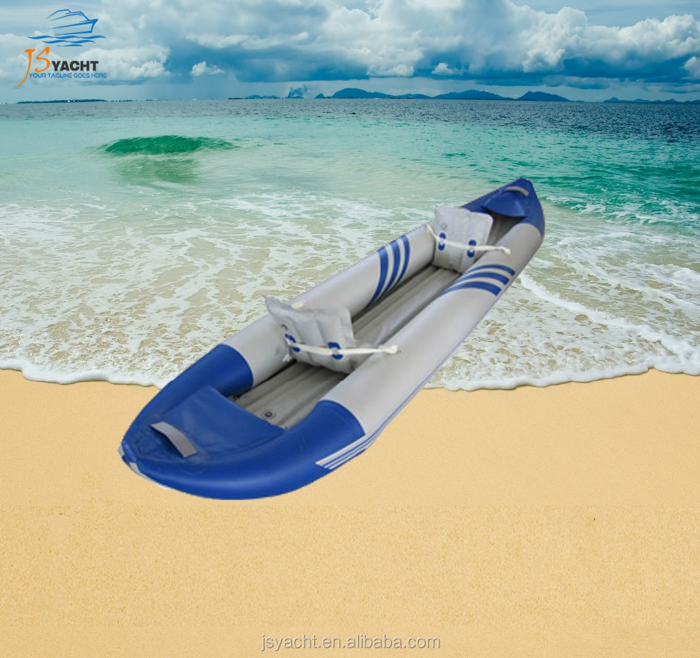 JS 2 person inflatable whitewater kayak inflatable rubber kayak