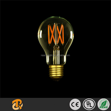 A19 screw filament clear LED light bulb